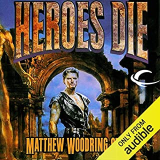Heroes Die audiobook cover art