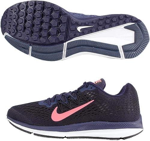 Nike Damen WMNS Zoom Winflo 5 Laufschuhe, Schwarz EU
