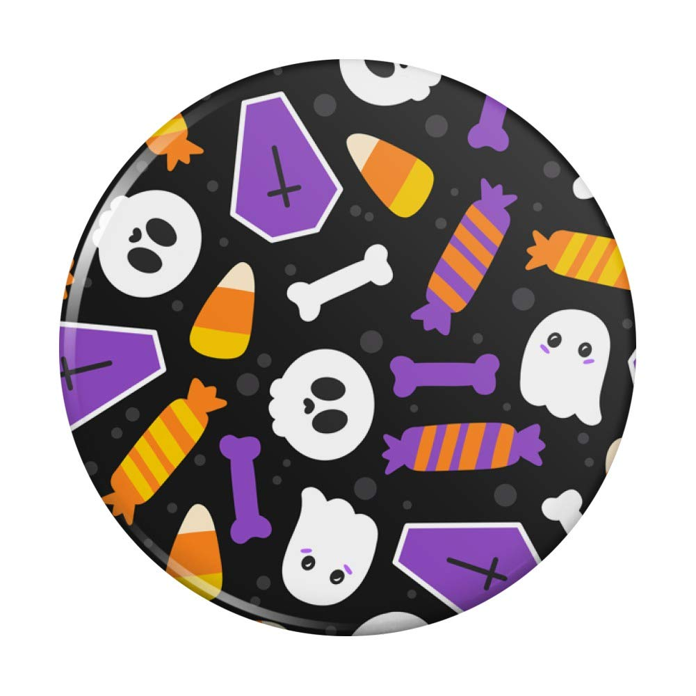 Cute Halloween Candy Ghost Skull Super beauty product restock quality top Pattern Pocket In a popularity Compact Ha Purse
