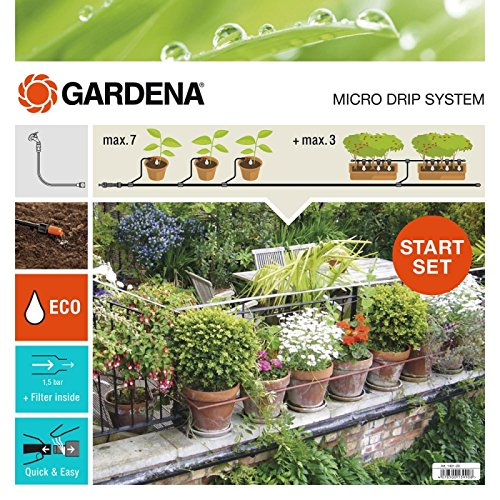 Gardena 13004-26, Estándar, Set de Inicio para Macetas automático