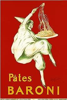 American Gift Services - Pates Baroni Artist Leonetto Cappiello Vintage Advertisement Fine Art Poster Print - 18x24