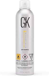 GK HAIR Global Keratin ドライシャンプー(オイリーヘア・全髪質用)|パラベン・サルフェートフリー、残留物なし、フレーキング、フケ、過剰なオイルコントロール、縮れを防ぐ、(219ml/5 fl.oz