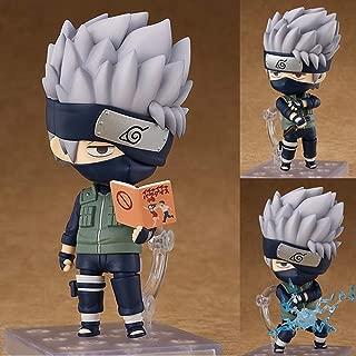 Lupovin Anime Naruto Shippuden Nendoroid 724 Kakashi Hatake Movable PVC Action Figure Model Toys Collection Doll Gift 10cm Brinquedos