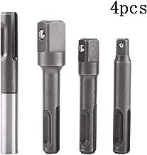 HZJT-10A Adaptador de rosca de 0,8 a 10 mm sin llave para taladro de 3//8 pulgadas y 24 UNF v/ástago hexagonal de 1//2 pulgada adaptador de cambio r/ápido con v/ástago SDS-Plus de 1//4 pulgadas