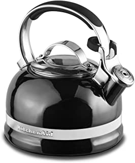 KitchenAid KTEN20SBPR 2.0-Quart Kettle with Full Stainless Steel Handle and Trim Band - Pyrite
