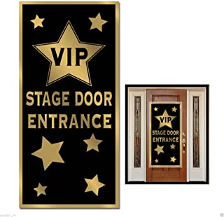 Unbranded Newest Movie Night Hollywood Awards Red Carpet Party VIP Stage Door Entrance Wall Cover