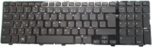Laptop Keyboard for DELL Inspiron 15R N5110 M5110 M511R P17F NL Netherlands 0YJR37 YJR37 AEGM7H00120 V119725AK1 New