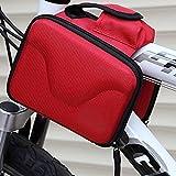 Moppi Fahrradrahmen Double Bag Mountain Bike Bag Shell Saddle Bag -