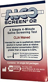 Alcohol Screen02 - Saliva Alcohol Test (12 tests)
