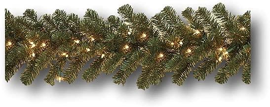 Large Pre-lit Balsam Pine Garland ~ 108