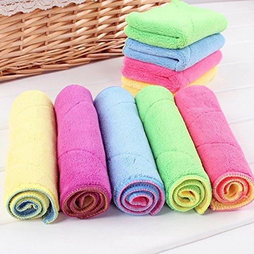 Mikrofaser Reinigungstücher 18x30 cm Spültücher Handtücher Waschlappen Dishcloths (3 Stück)
