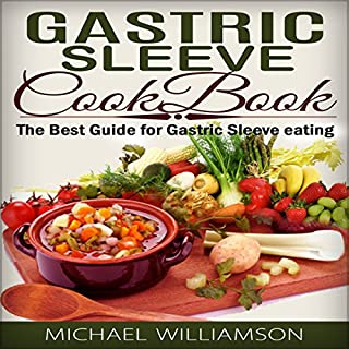 Gastric Sleeve Surgery Cookbook cover art