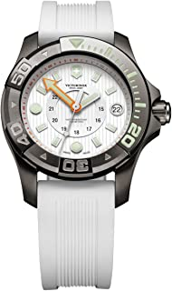 Swiss Army de Mujer Reloj de Pulsera XL Professional Dive Master analógico de Cuarzo Caucho 241556