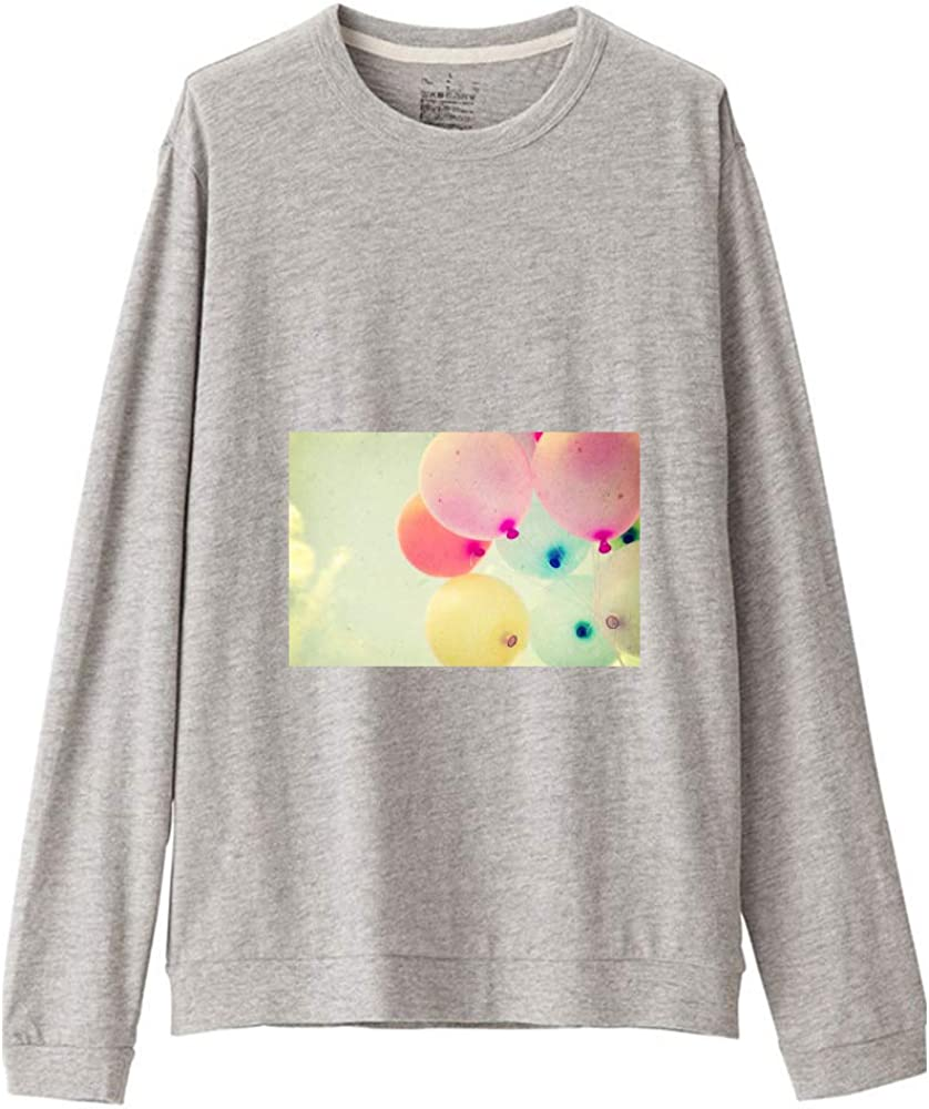 Popular brand HKYL Round Neck Long T-Shirts In a popularity ClothingLong Sleeve T-Shirt