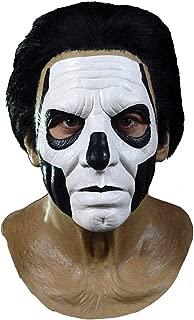 Ghost Papa III Standard Full Head Mask, Brown Black White, One-Size