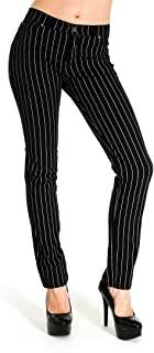 Run & Fly Women's Skinny Stretch Mid Rise Jeans Indie Retro