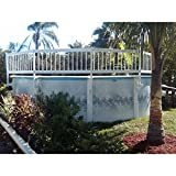 GLI Above Ground Pool Fence Add-On Kit B (3Sect)...