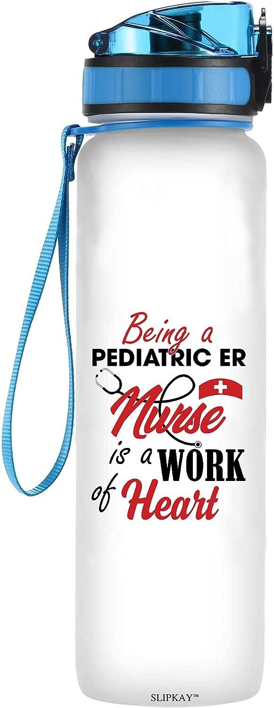 Brand new Being A Pediatric Er Max 50% OFF Nurse Is Work Tracker Bott Water Heart Of