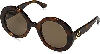 bc0a673cb93 Gucci GG 0107 S- 002 GOLD ORANGE Sunglasses