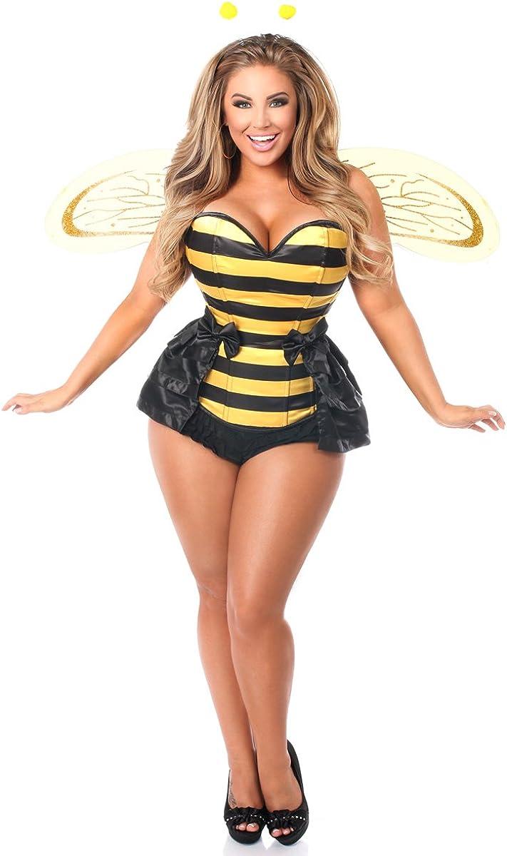 Daisy corsets womens Lavish 5 Pc Queen Bee Corset Costume