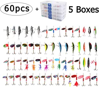 Amazon.es: 50 - 100 EUR - Cebos spinner / Señuelos y moscas ...