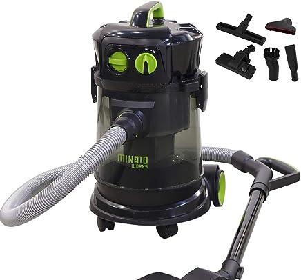 ミナト 乾湿両用 業務用掃除機 サイクロン式バキュームクリーナー MPV-151CY (容量15L/吸水0.5L)