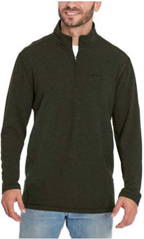 Orvis Men's Soft Quarter Zip Long Sleeve Pull-Over