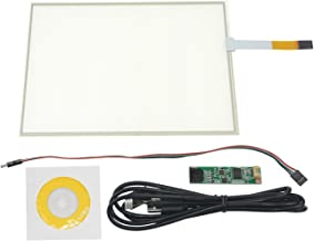 NJYTouch 10.4 Inch 4 Wire Resistive Touch Panel Touchscreen with 4 Wire USB kit 225.5x172.9mm for 10