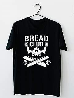 Bread Club-Satoshi Kojima Cotton short sleeve T shirt, Hoodie for Men Women Unisex