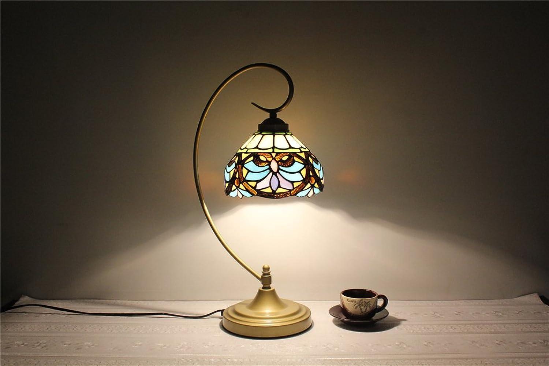 8-Zoll-europäischen Retro-Nachtleselampe Studie kreative Handarbeit minimalistische Tischlampe groß groß groß Lampe B06Y2NJRLN   | Sonderkauf  d1fc68