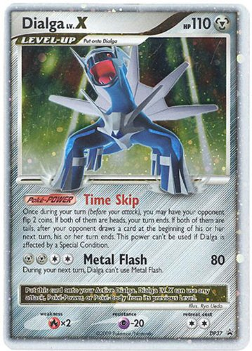 Pokemon Platinum Dialga Lv. X DP37 Promo Card [Toy]
