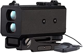 LaserWorks LE-032 Mini Laser Rangefinder Rifle Scope Mate Hunting or Bow-700yard Archey Mode with Angle 3 Sides mountable