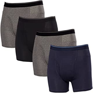 Kirkland Signature Men's Boxer Brief Pima Cotton 4 Pack