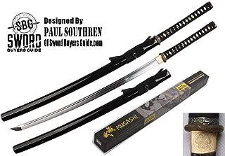 Musashi - Bamboo Fast Cutter Lightweight Katana Real Clay Tempered 1060 Carbon Steel Blade Samurai Sword Katana
