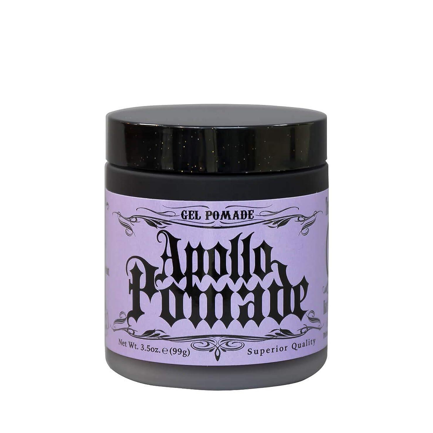 セイはさておき高価な洪水ポマード メンズ Apollo Pamade (アポロポマード ジェルポム 水性 ) 3.5oz(99g)
