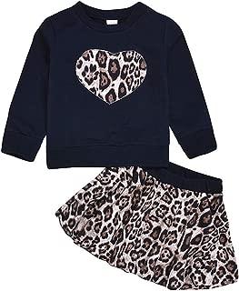 Cwemimifa Neugeborenes Baby Herbst Fr/ühling Kleidung Set Langarm Floral Sweatshirt Blume R/üsche Hosen Mode Outfits f/ür 3-24 M