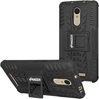 AMZER Impact Resistant Case for Redmi Note 2 Pro, Redmi Note 3 - Retail Packaging - Black