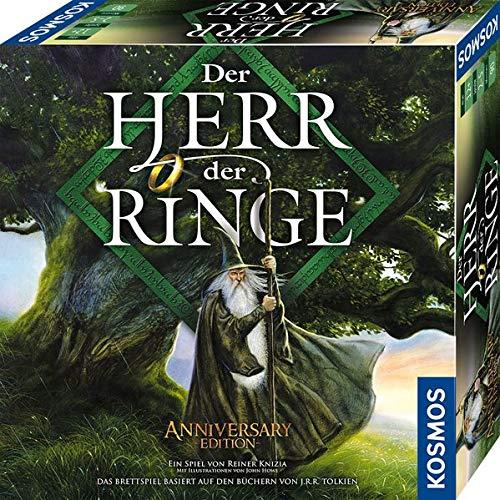 Kosmos 680473 Der Herr der Ringe Fantasy Brettspiel. Für 2 bis 5 Spieler ab 10 Jahre