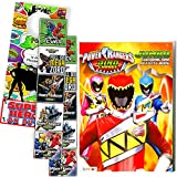 POWER RANGERS DINO CHARGE Coloring Book and Stickers Super Set Bundle ~ Dino Chargers Coloring Book with Power Rangers Dino Chargers Stickers & Specialty Door Hanger