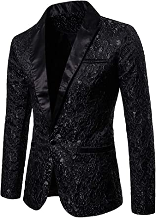Pingtr Men'sTailored Fit Vintage Suit, Mens Tweed Blazer Jacket RetroTailored Fit Smart Suit Formal Dinner Coat Slim Fit Suit Jackets
