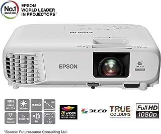 Epson EB-U05 3LCD, Full HD, 3400 Lumens, 300 Inch Display, Gaming & Home Cinema Projector - White