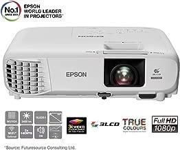 """Epson EB-U05   Proyector Full HD 1080p   3400 lúmenes   Contraste 15000:1   Lámpara Larga Duración 10.000 horas   Pantalla Hasta 300""""   Tecnología 3LCD"""