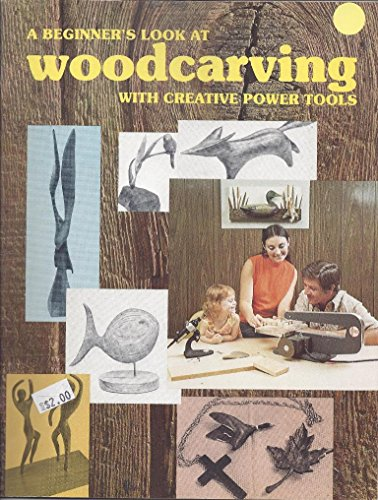 A beginner's look at woodcarving with creative power tools