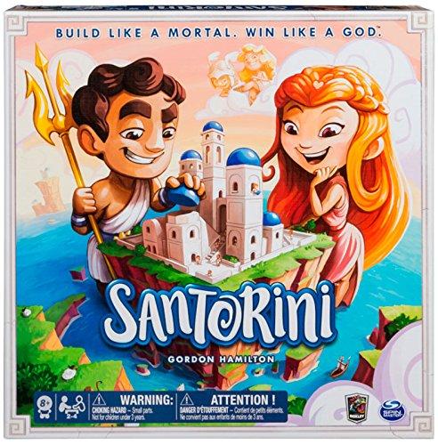 Brettspiele–Santorini Set, Mehrfarbig (Bizak, S.A. 61923430)
