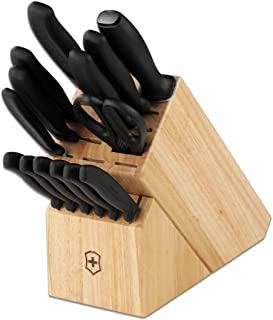 Victorinox 6.7000.15US1 Swiss Classic 15-Piece Block Set Pc, Black