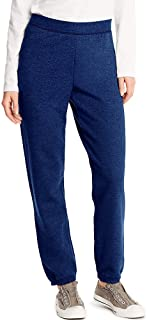 Hanes Women's Midrise Cinch-Bottom Fleece Sweatpant
