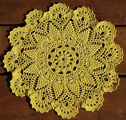 Ranking TOP9 Crochet Yellow Doily Topics on TV