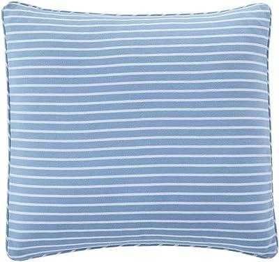 Kess InHouse Cristina Bianco Design Colorful Triangles Blue Lavender Illustration Round Floor Pillow 26