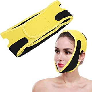 Gezichtsvormende riem, elastische gezichtsvormende afslankverband Verstelbaar, ademend gezichtsverstrakking hijsriem voor ...
