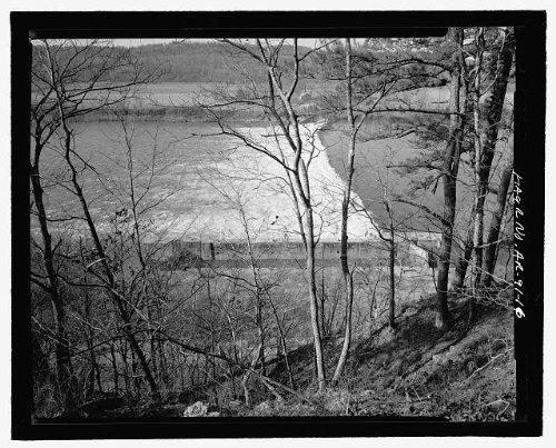 HistoricalFindings Photo: Upper White River Lock & Dam,Batesville,Independence County,Arkansas,AR,HAER,15